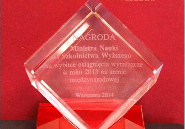 Statuetka Nagroda Ministra Nauki i Szkolnictwa Wyższego